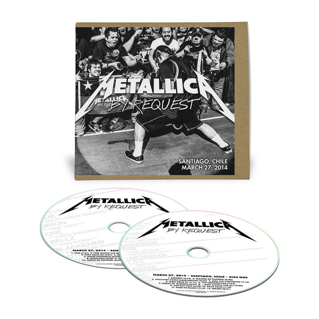 Live Metallica: Santiago, Chile - March 27, 2014 (2CD), , hi-res