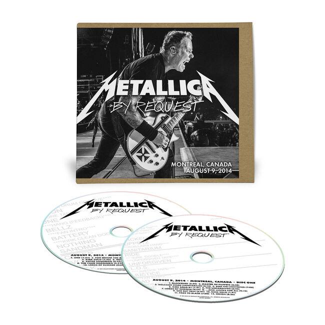 Live Metallica: Montreal, Canada - August 9, 2014 (2CD), , hi-res