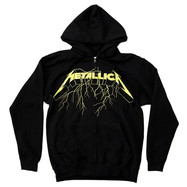 Splatter Lightning Full Zip Hoodie, , hi-res
