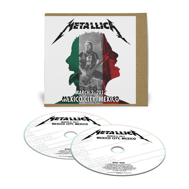 Live Metallica: Mexico City, Mexico - March 3, 2017 (2CD), , hi-res