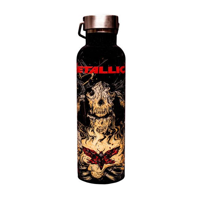 WolfSkullJack Moth Water Bottle, , hi-res
