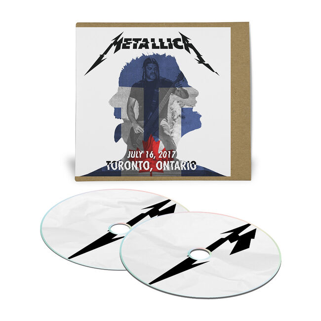 Live Metallica: Toronto, Canada – July 16, 2017 (2CD), , hi-res