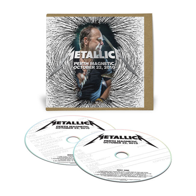 Live Metallica: Perth, Australia - October 22, 2010 (2CD), , hi-res
