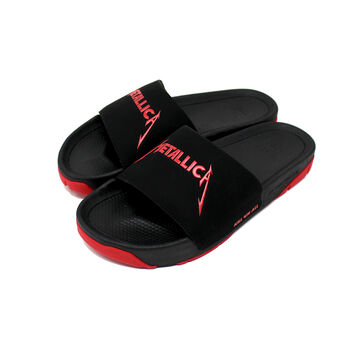 Kill 'Em All Slider Sandals, , hi-res