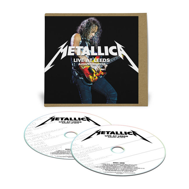 Live Metallica: Leeds, England - August 30, 2015 (2CD), , hi-res