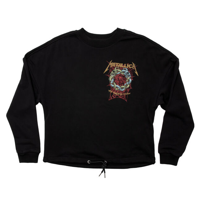 Women's Struggle Within Crop Sweater, , hi-res