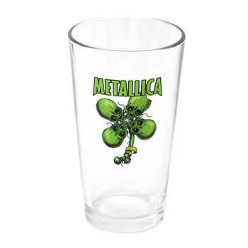 No Leaf Clover Pint Glass, , hi-res