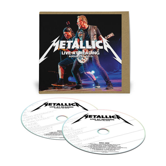 Live Metallica: Reading, England - August 29, 2015 (2CD), , hi-res