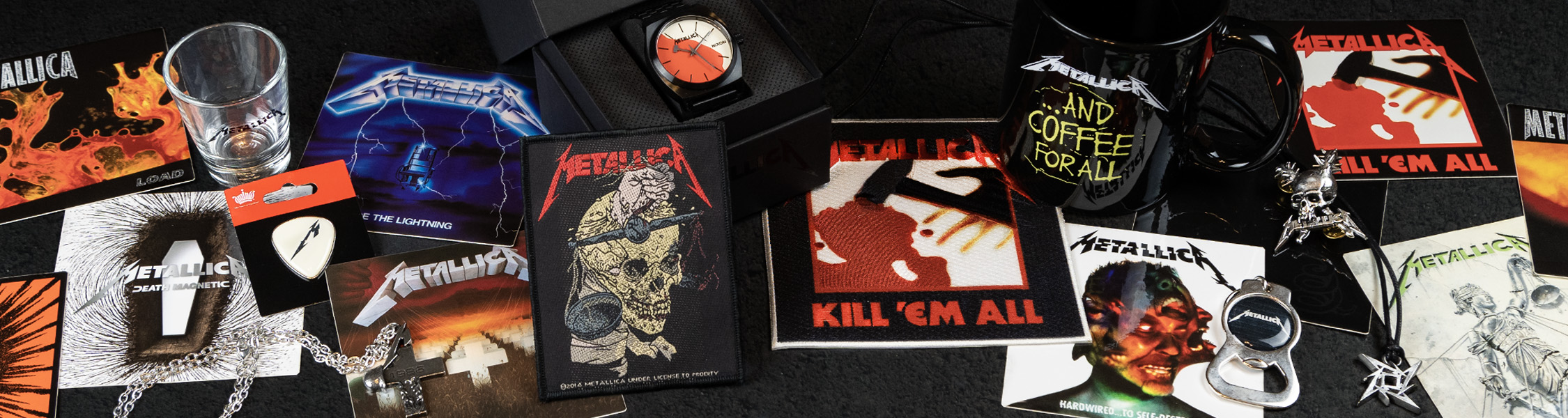 METALLICA Kill Em All Woven Iron On Patch Official Licensed Merch