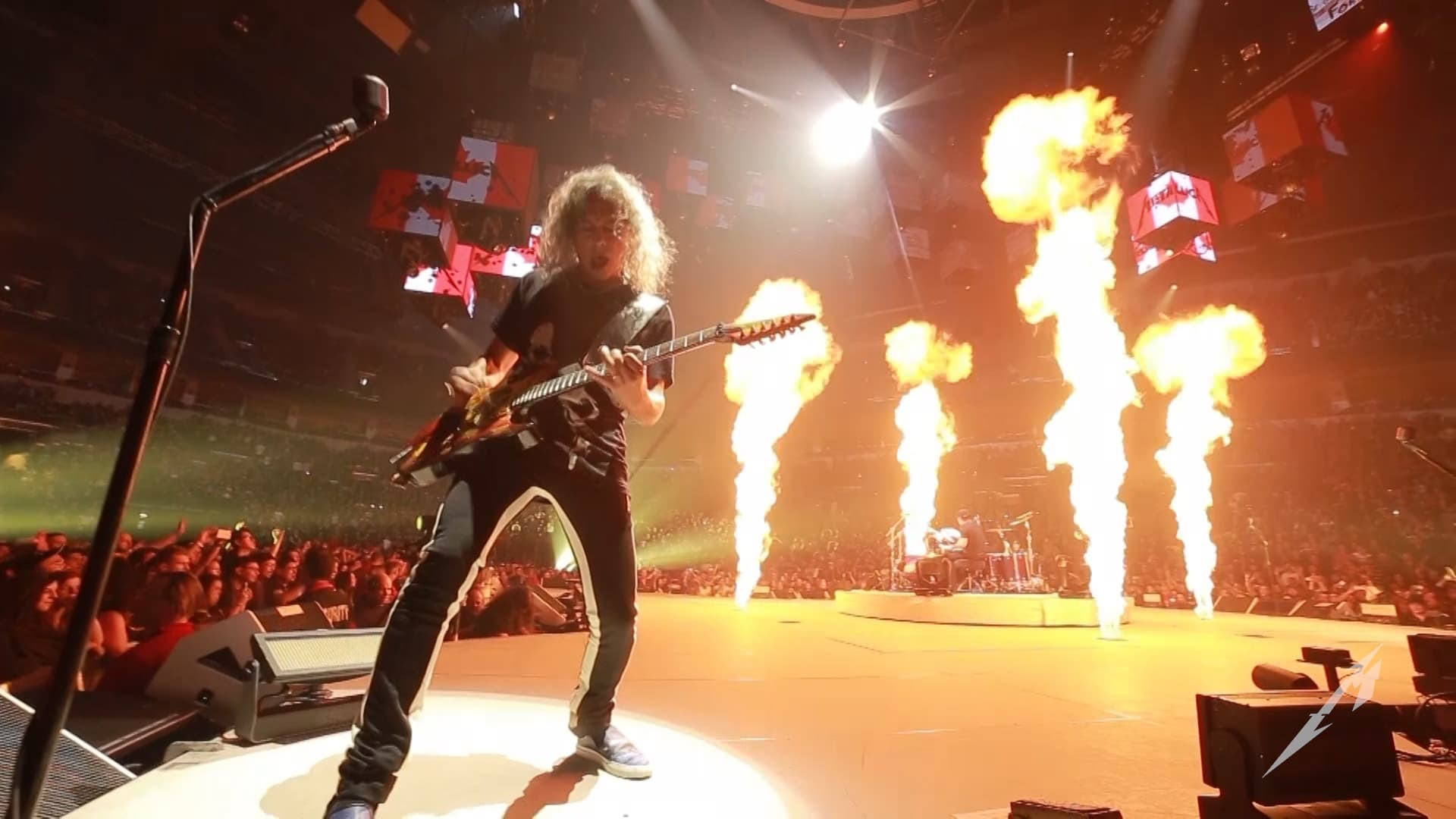Metallica at Bell MTS Place in Winnipeg, Manitoba, Canada on