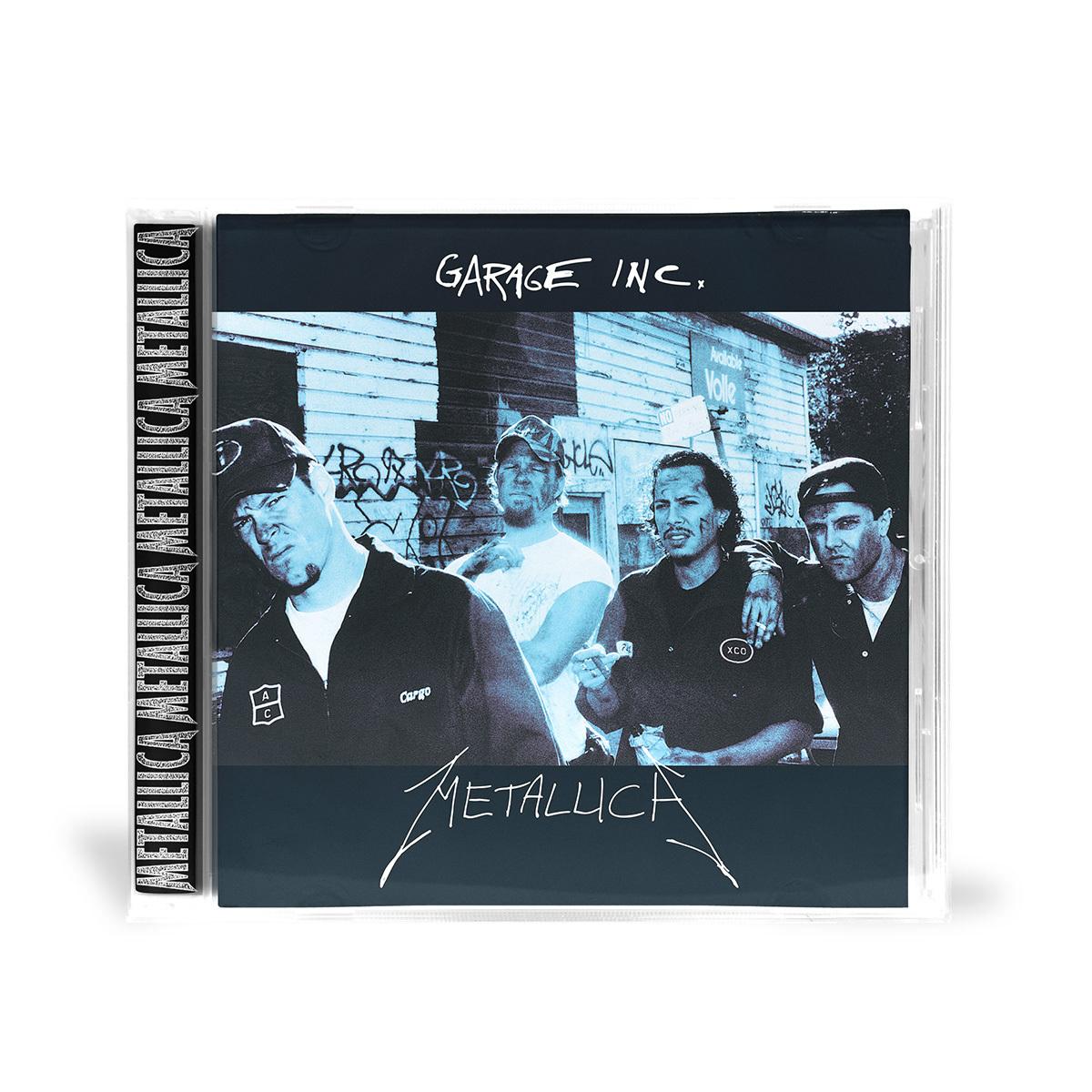 Garage Inc Cd Metallica Com