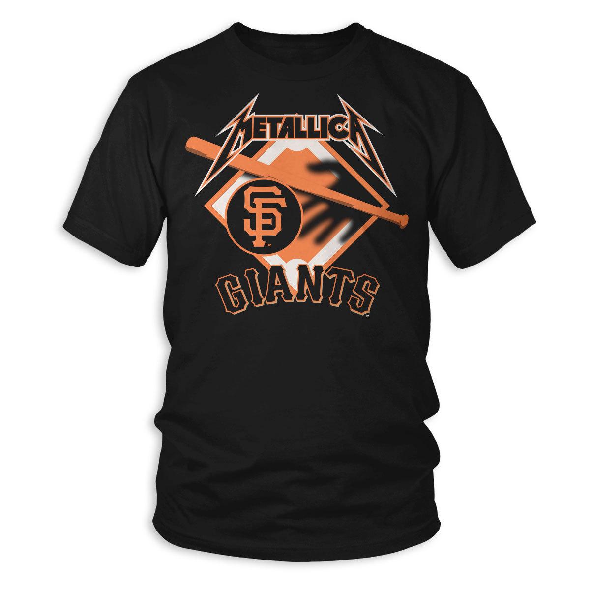 low priced ff141 aef0a SF Giants Hit 'Em All T-Shirt | Metallica.com