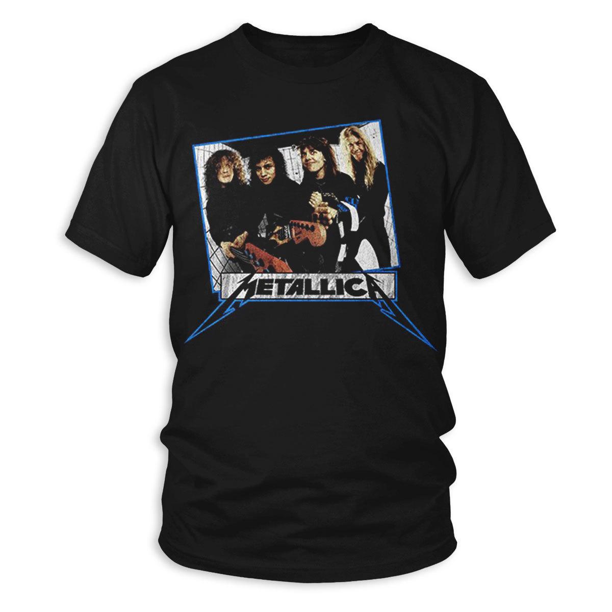 Garage Days Album Cover Men S T Shirt Metallica Com Metallica Com