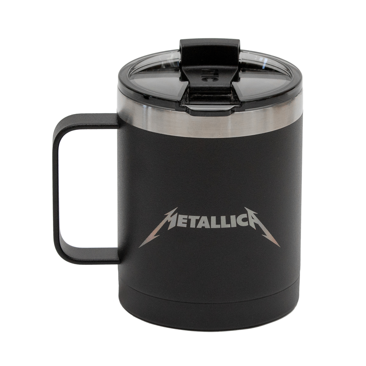 Rtic Black Matte Travel Mug 12oz Metallica Com