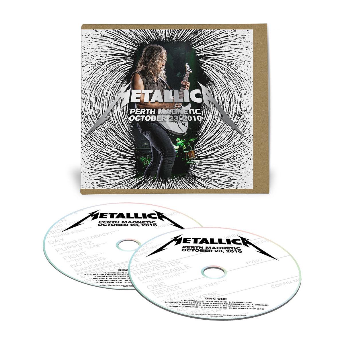 Live Metallica: Perth, Australia - October 23, 2010 (2CD ...