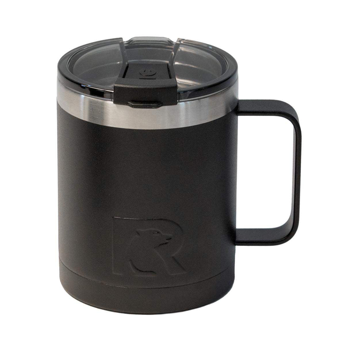 Rtic Black Matte Travel Mug 12oz Metallica Com